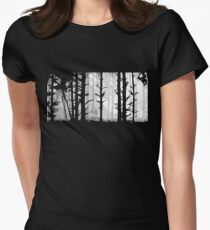 Deep In the Forest Women's Fitted T-Shirt