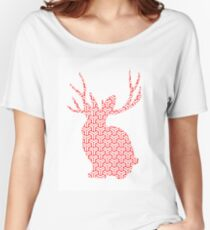 The Pattern Rabbit Women's Relaxed Fit T-Shirt