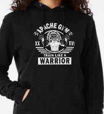 Apache Gym, Train Like A Warrior Lightweight Hoodie