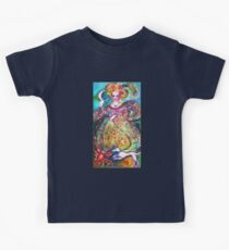 TAROTS OF THE LOST SHADOWS / THE MOON LADY Kids Tee