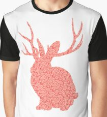 The Brains Rabbit Graphic T-Shirt