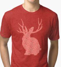 The Brains Rabbit Tri-blend T-Shirt