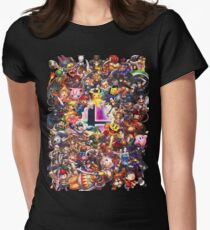 Smash Brothers Womens Fitted T-Shirt
