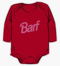 Barf T-Shirt One Piece - Long Sleeve