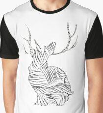 The Stripy Rabbit Graphic T-Shirt