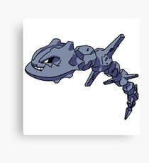 Pokemon Steelix Canvas Print