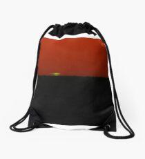 Green Flash Drawstring Bag