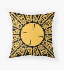 PUZZLE BOX - SIDE A Throw Pillow