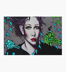 Graffiti Women Photographic Print