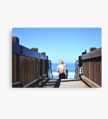 Grandview Groove Canvas Print