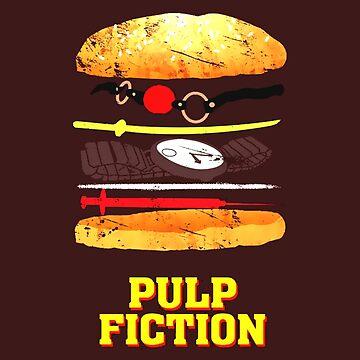 Pulp Fiction Burger by DoggieDog