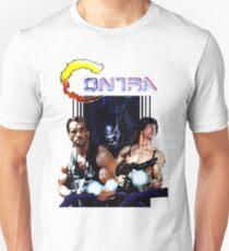 Camiseta unisex Contra Parodia del juego