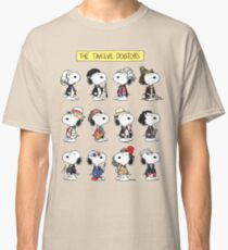 Snoopy Doctors Collage Classic T-Shirt