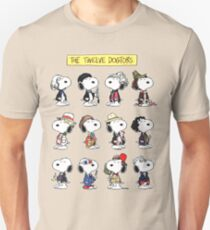 Snoopy Doctors Collage T-Shirt