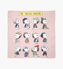 Snoopy Doctors Collage Scarf