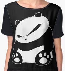 Angry Panda Chiffon Top