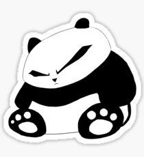 Angry Panda Sticker