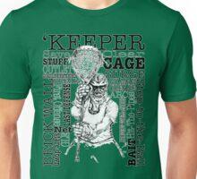 Word Montage-'KEEPER (border) Unisex T-Shirt