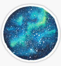 Watercolor Galaxy Sticker