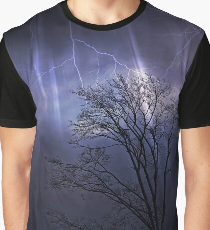 Thunder Clouds Graphic T-Shirt