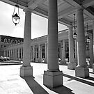 Colonnades at the Palais-Royal by Alex Cassels