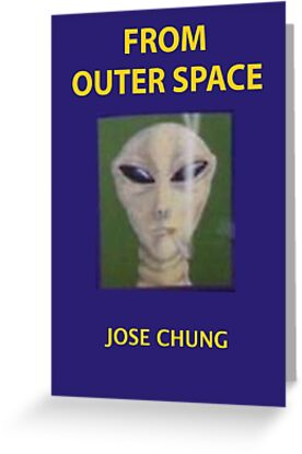 Jose Chung From Outer Space X Files Greeting Card By Luckythelab