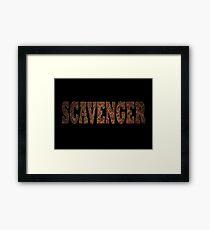Scavenger (Rust) Framed Print