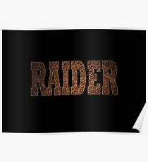 Raider (Rust) Poster