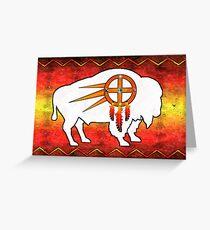 Tatanka Ska Greeting Card