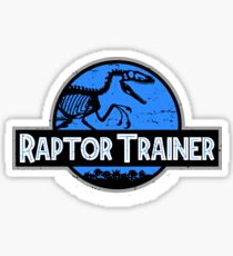 Jurassic World Raptor Trainer Sticker