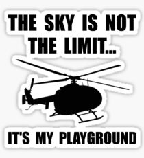 Sky Playground Helicopter Sticker