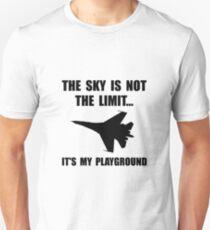 Sky Playground Military Plane Unisex T-Shirt