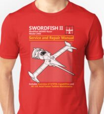 Swordfish Service and Repair Manual Unisex T-Shirt