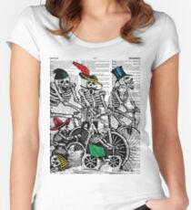 Calavera Cyclists Women's Fitted Scoop T-Shirt