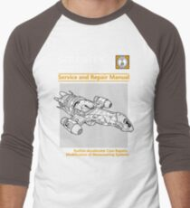 Shiny Service and Repair Manual Men's Baseball ¾ T-Shirt
