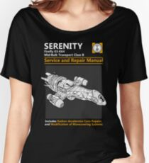 Shiny Service and Repair Manual Women's Relaxed Fit T-Shirt