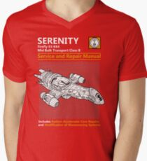 Shiny Service and Repair Manual Men's V-Neck T-Shirt