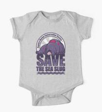 Rette die Meeresschnecke Baby Body Kurzarm