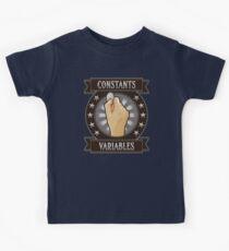 Constants & Variables Kids Tee