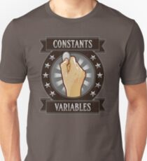 Constants & Variables Unisex T-Shirt