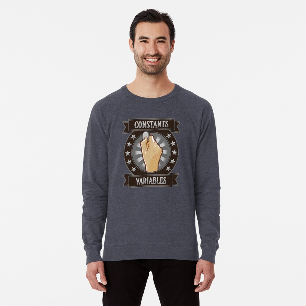Konstanten & Variablen Leichter Pullover