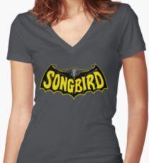 Songbird Women's Fitted V-Neck T-Shirt