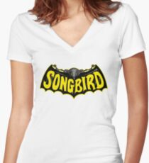 Songbird Women's Fitted V-Neck T-Shirt
