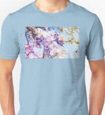 Cherry flowers Unisex T-Shirt