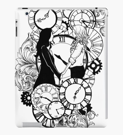 Time Led Me To You (Line Art Version) iPad Case/Skin