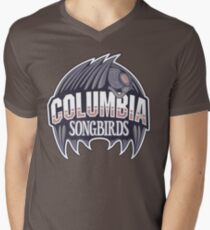 Columbia Songbirds Men's V-Neck T-Shirt