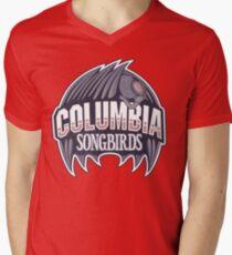 Columbia Songbirds Men's V-Neck T-Shirt