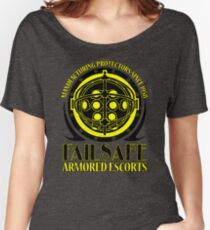 Failsafe Armored Escorts worn Women's Relaxed Fit T-Shirt