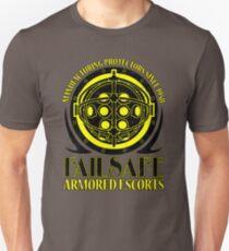 Failsafe Gepanzerte Escorts getragen Slim Fit T-Shirt