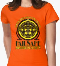 Failsafe Armored Escorts worn Womens Fitted T-Shirt